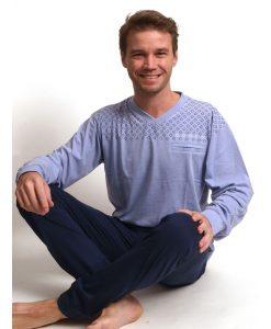 Pyjama lange mouwen pocket jersey Outfitter