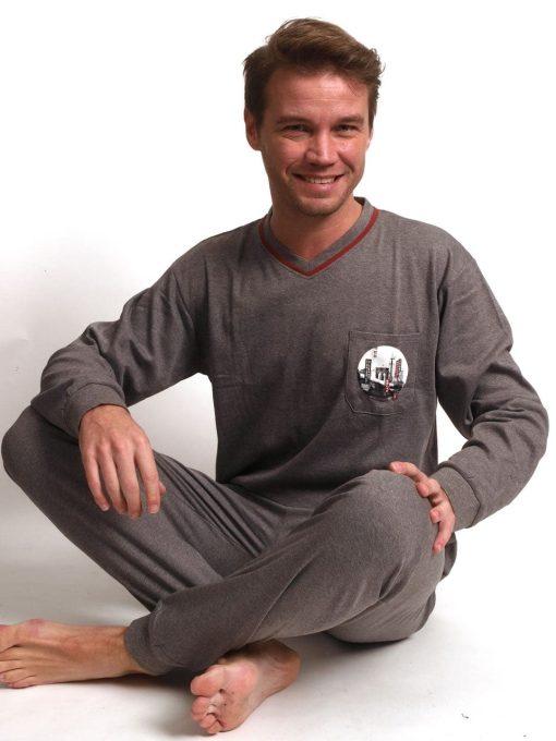 Pyjama lange mouwen heren postal interlock Outfitter