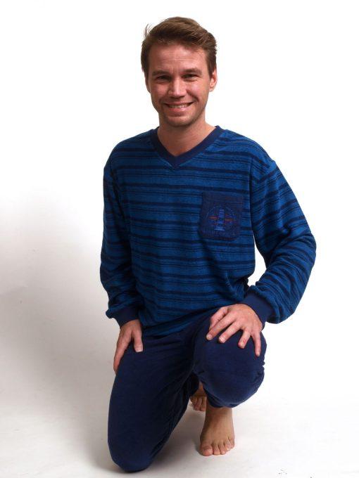 Pyjama lange mouwen heren vuurtoren stretch Outfitter