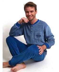 Pyjama lange mouwen heren chicago velours Outfitter heren