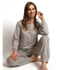 Pyjama lange mouwen sheep jersey Cocodream dames
