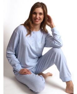 Pyjama lange mouwen interlock Friday Cocodream