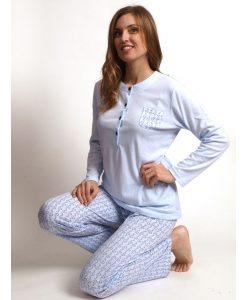 Pyjama dames lange mouwen cocodream ivy