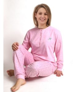 Pyjama Cocodream lange mouwen vosje stretch