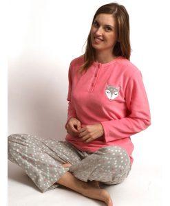 Pyjama lange mouwen poolvosje micro fleece Cocodream