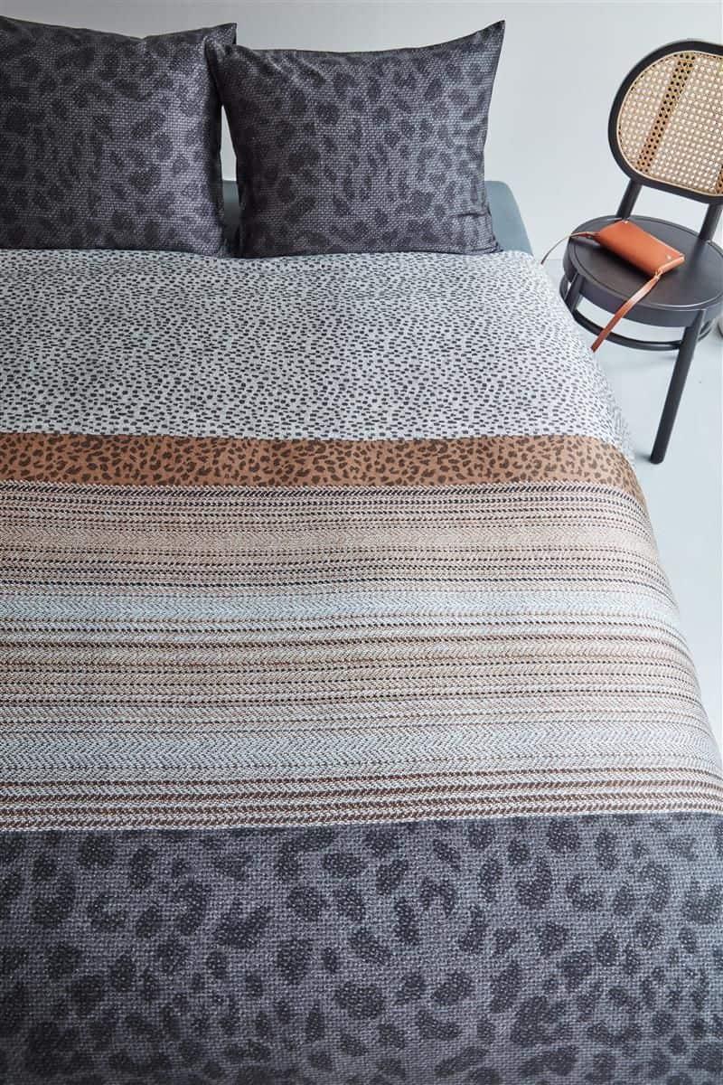 Bedding House Feis Anthracite dekbedovertrek