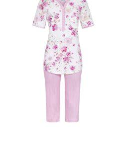 Pyjama Romantic Flowers capribroek petals Ringella