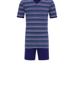 Pyjama Jack korte mouwen night blue Ringella