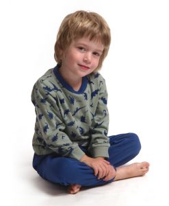 Outfitter pyjama lange mouwen jongens dino's