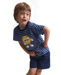 Outfitter pyjama korte mouwen jongens smiley