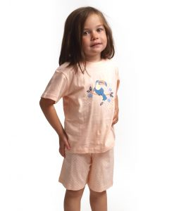 Cocodream pyjama korte mouwen meisjes toucan