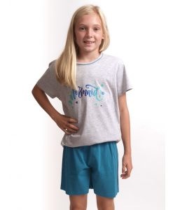 Cocodream pyjama korte mouwen meisjes mermaid