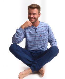 Outfitter pyjama lange mouwen heren comfort