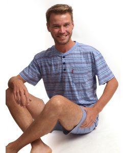 Outfitter pyjama korte mouwen heren comfort