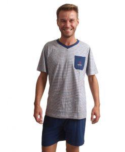 Outfitter pyjama korte mouwen heren discover