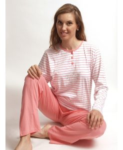 Cocodream pyjama lange mouwen dames tropical