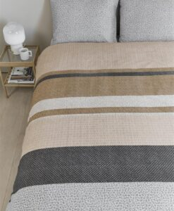 Dekbedovertrek Bedding House Berith Grey 1