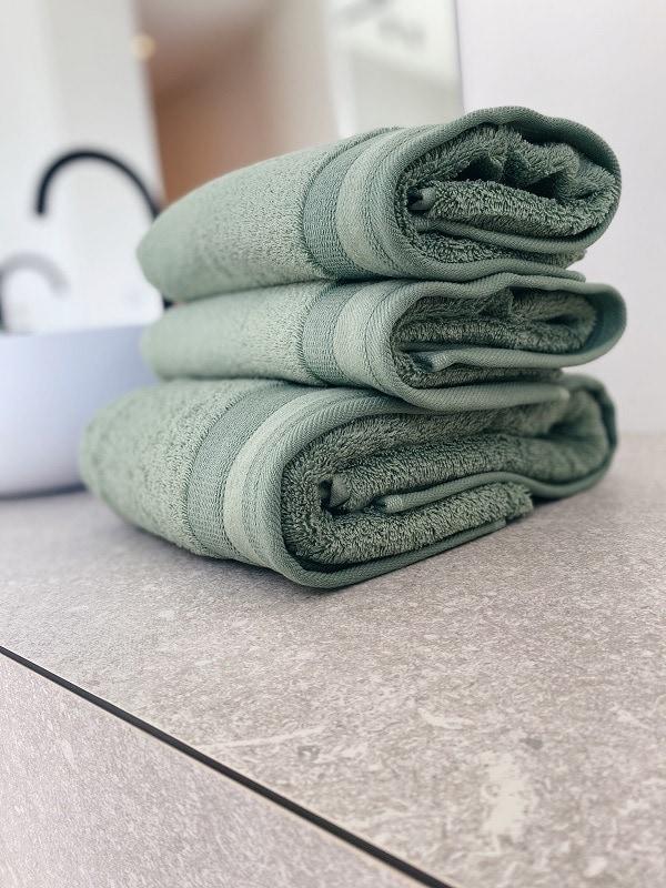 De Witte Lietaer handdoeken Excellence Sea Green