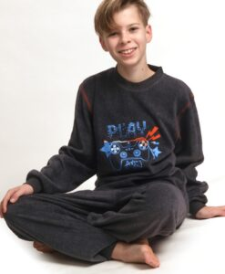 Outfitter - Pyjama lange mouwen jongens play games fleece