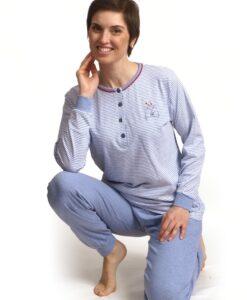 Cocodream - Pyjama lange mouwen dames love cats jersey