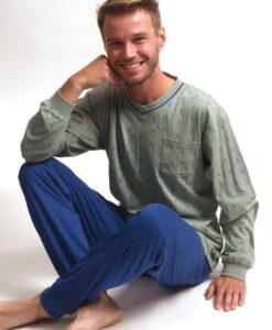 Pyjama lange mouwen heren anchor